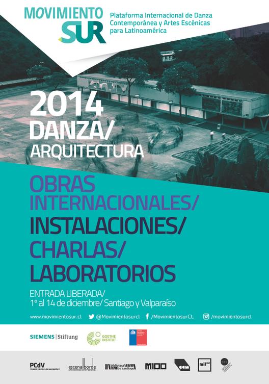 Movimiento Sur: Danza y Arquitectura / Santiago y Valparaíso