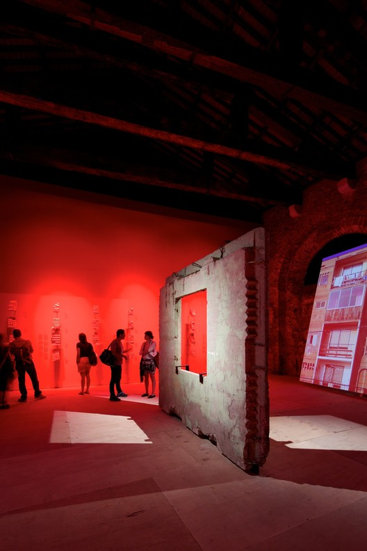 The 2014 Venice Biennale, Socially Ranked, Monolith Controversies / Chilean Pavilion (Venice 2014). Image © Nico Saieh