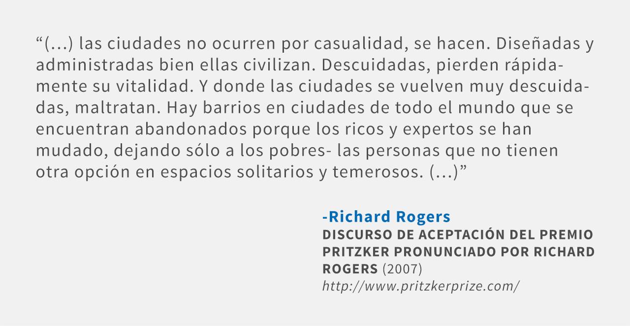 Frases: Richard Rogers