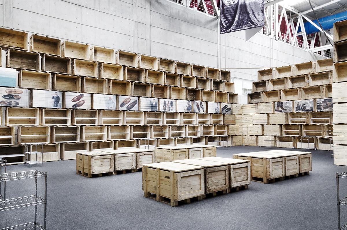 Pabellón Cajas de Embalaje. Image © Diego Torres