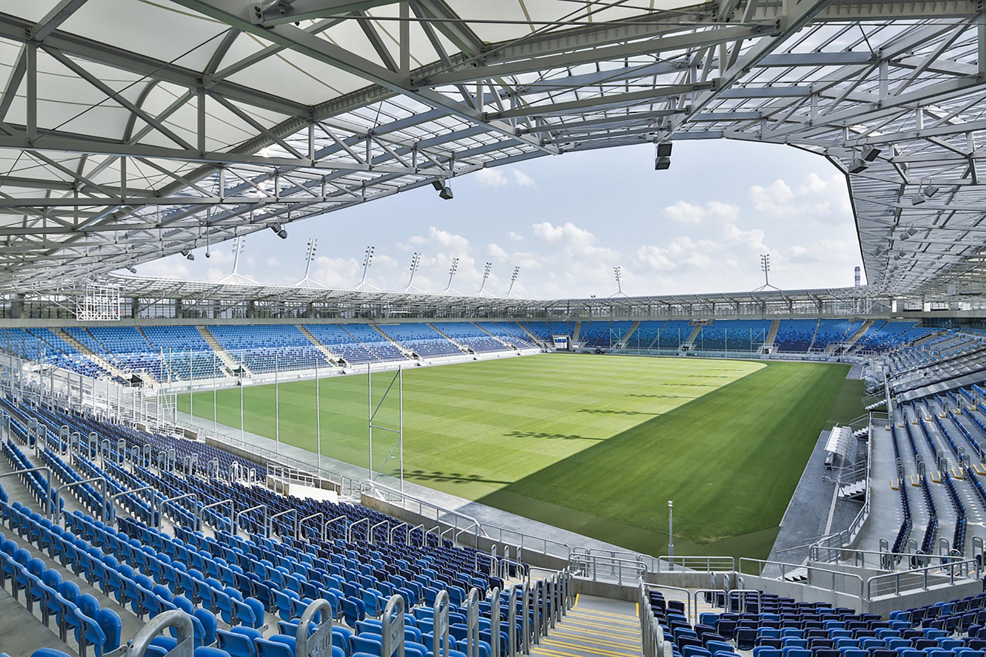 Lublin City Stadium  / Estudio Lamela, © Bartosz Makowski