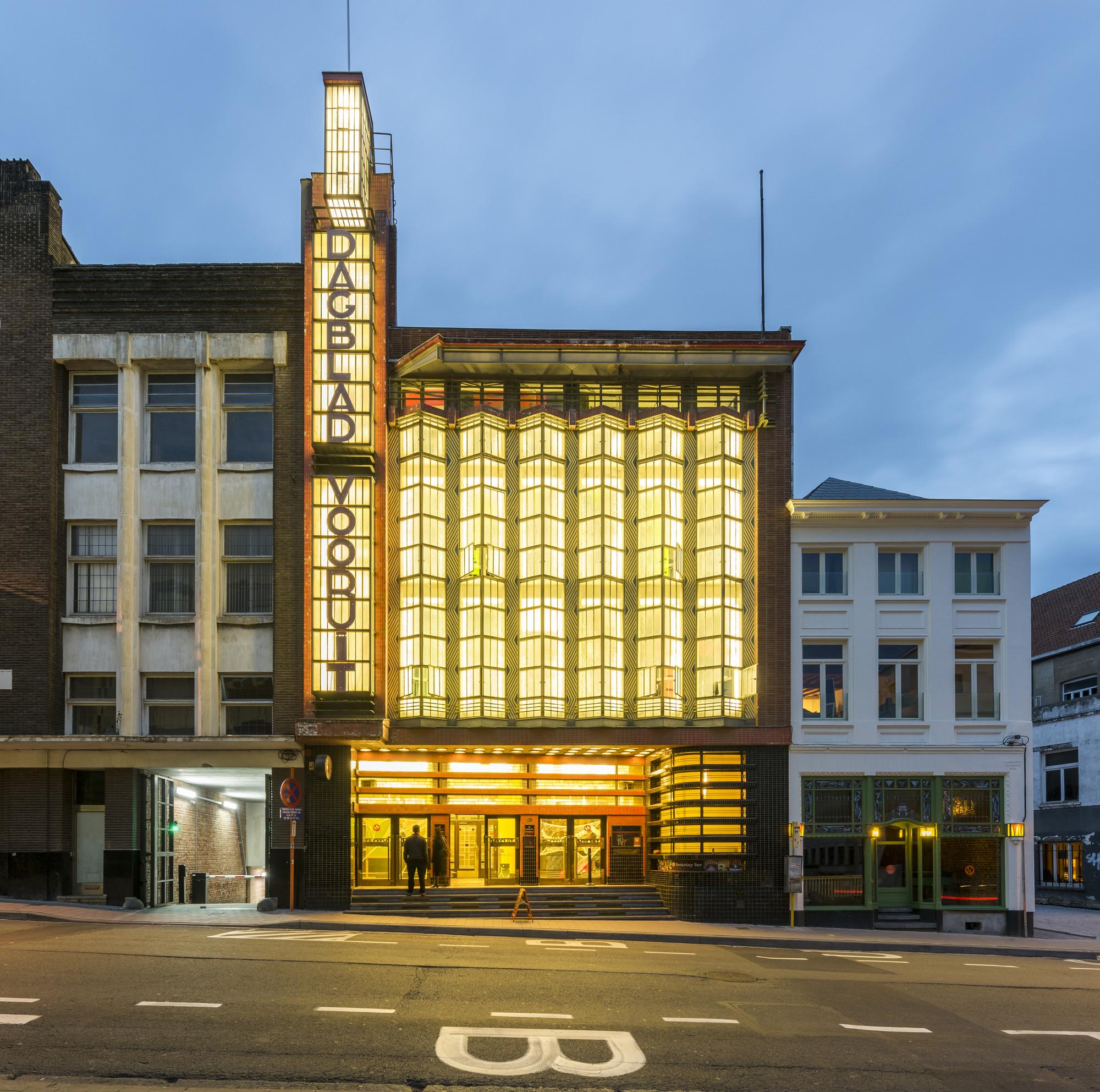 Backstay Hostel Ghent / A154 + Nele Van Damme + Yannick Baeyens, © Luc Roymans Photography