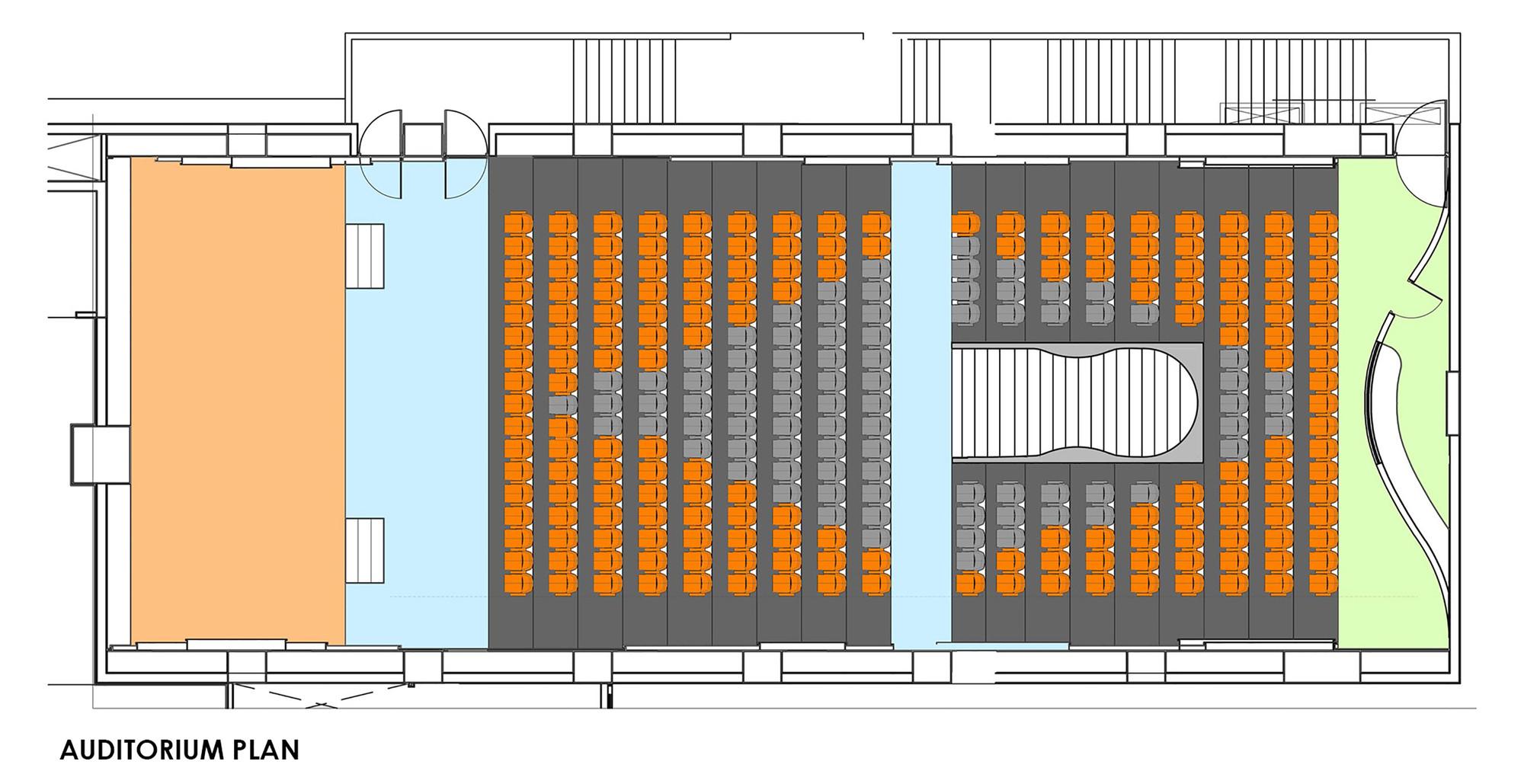 Gallery Of M Auditorium Planet 3 Studios Architecture 7
