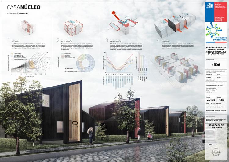Lámina 01. Image Cortesía de B+V Arquitectos