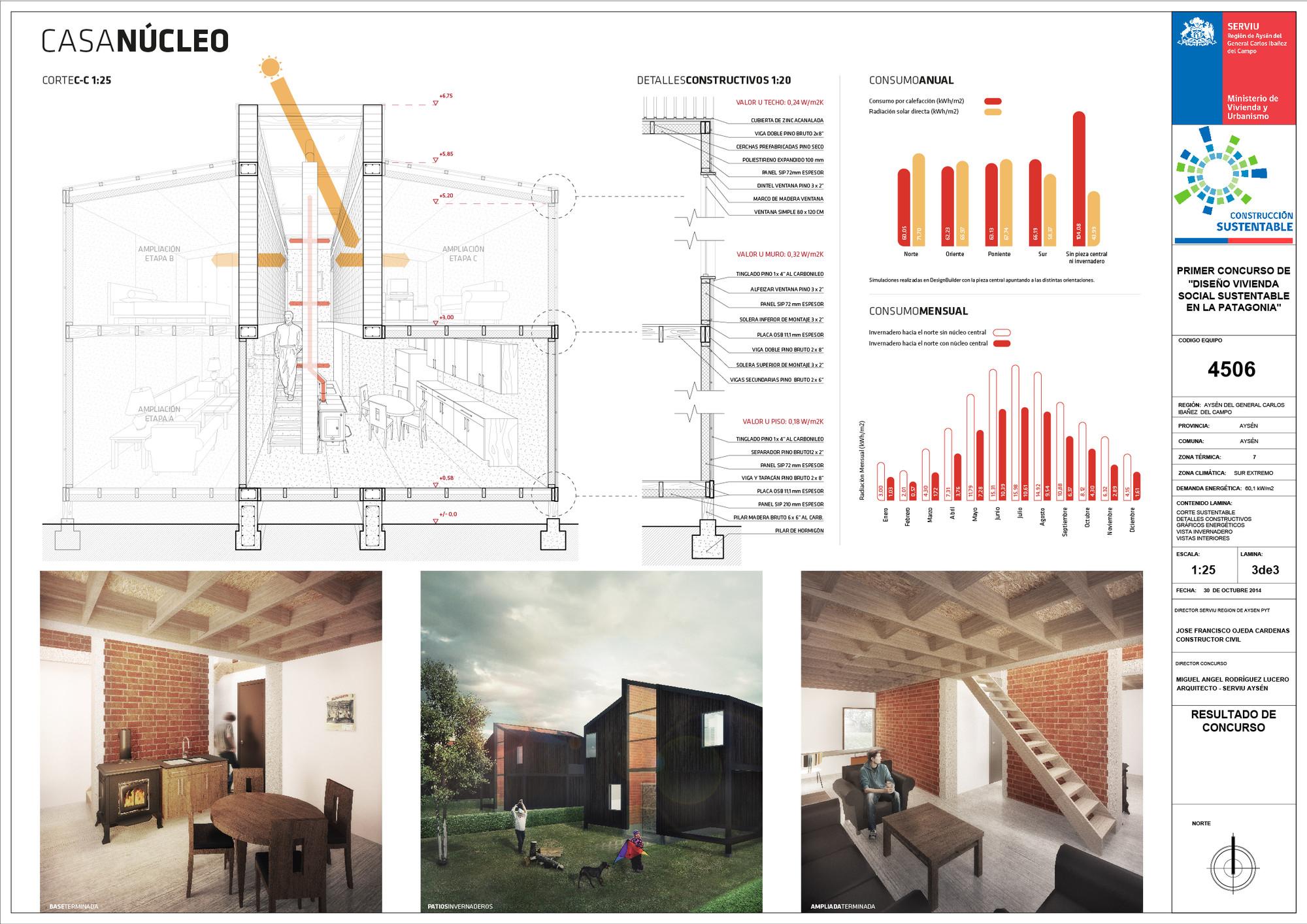 1 lugar dise o de vivienda social sustentable taringa for Diseno vivienda
