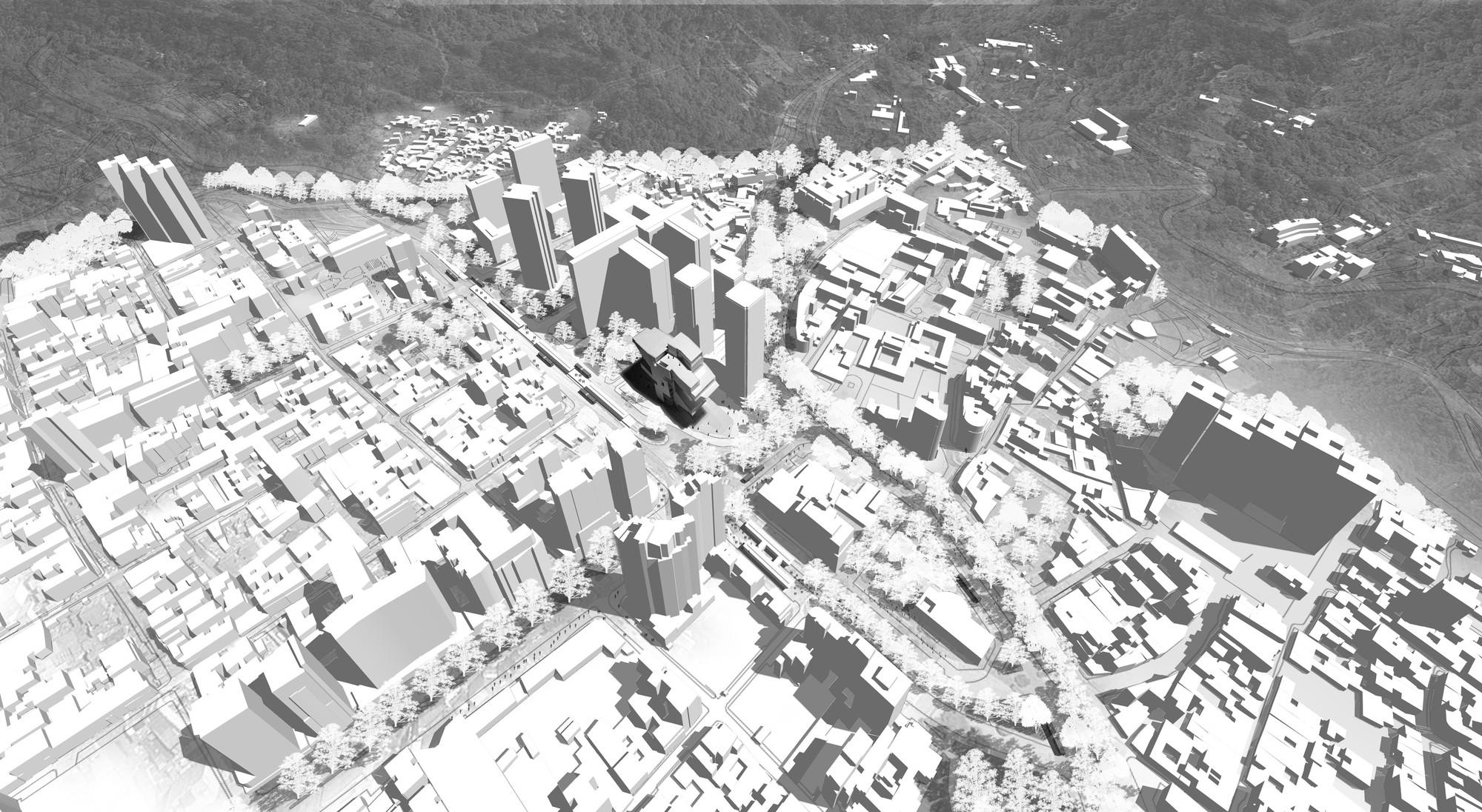Fondo urbano. Image Cortesia de estudio.entresitio