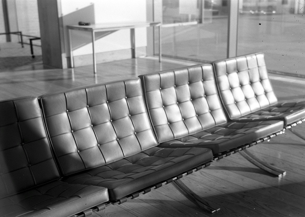 """The Latest 99% Invisible Podcast Will Have You on the """"Edge of Your Seat"""", Mies van der Rohe's Barcelona Chairs. Image © Flickr user James Davies"""