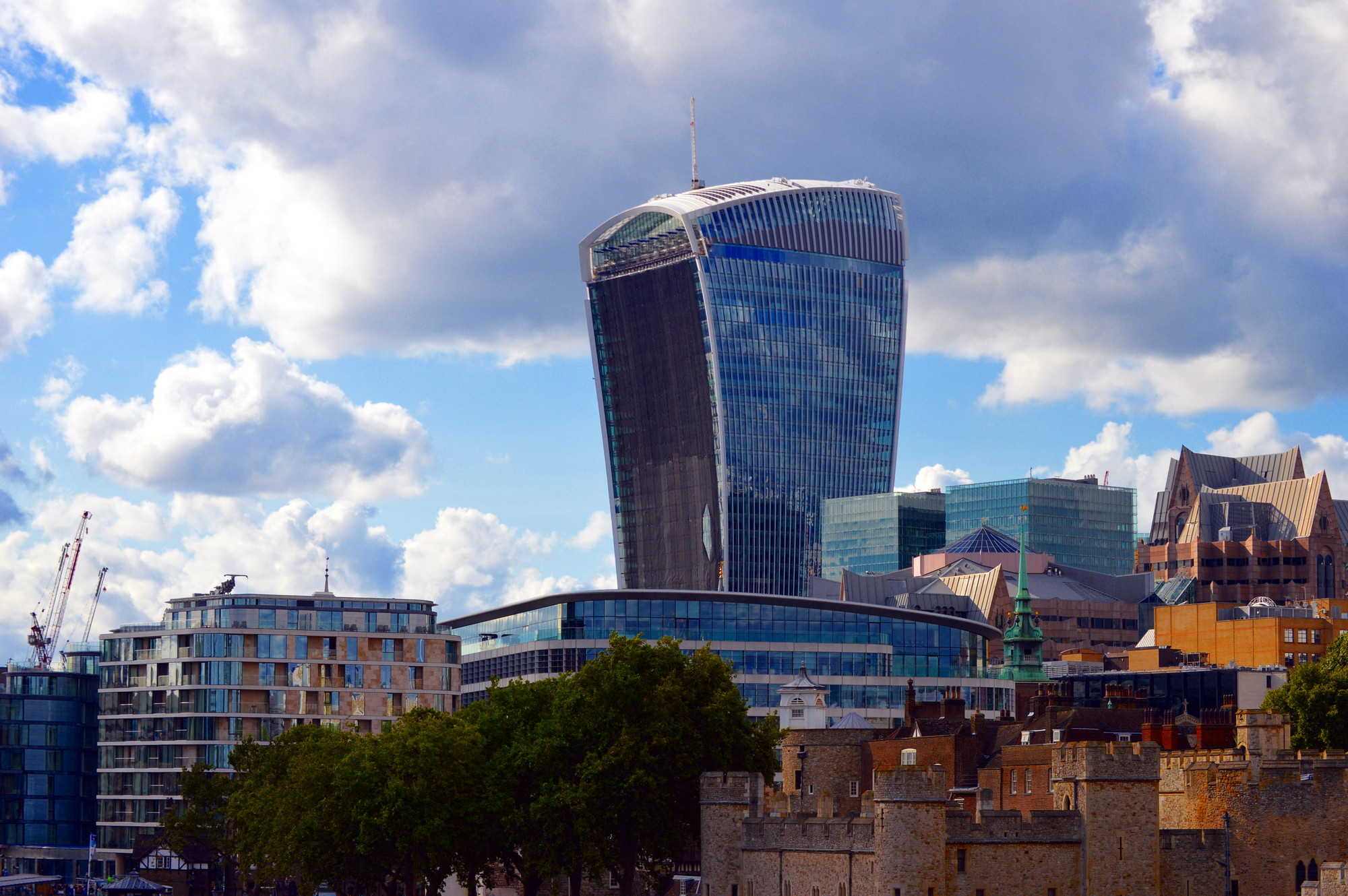 """The Walkie Talkie,"" 20 Fenchurch Street, London. Image © Flickr CC user Bill Smith"
