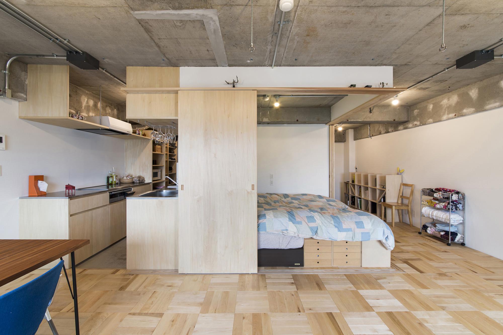 Tsukiji Room H / Yuichi Yoshida & associates, © Katsumi Hirabayashi