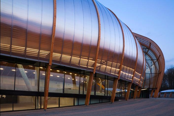 Ad Classics Limoges Concert Hall Bernard Tschumi