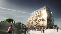 "Utopia Arkitekter's ""Jewel"" Selected in Uppsala Travel Centre Contest"