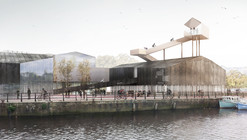 AWP Designs Cycle Centre Lookout for Newcastle's Malmo Quay