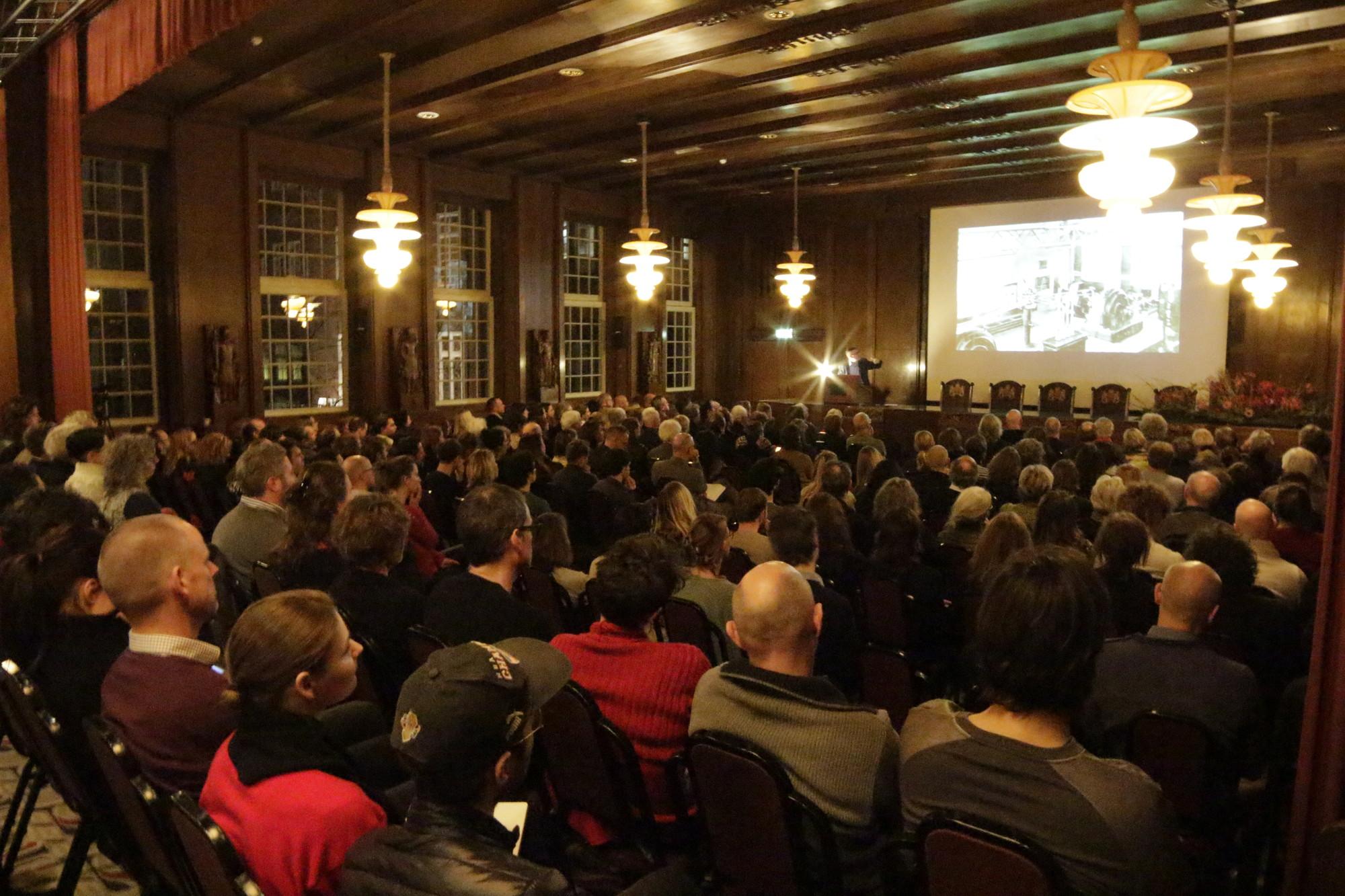 Benno Premsela Lecture 2014. Image © Equipo Plataforma Arquitectura/ArchDaily