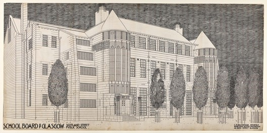 Design for Scotland Street School by Charles Rennie Mackintosh. Image © Hunterian, University of Glasgow