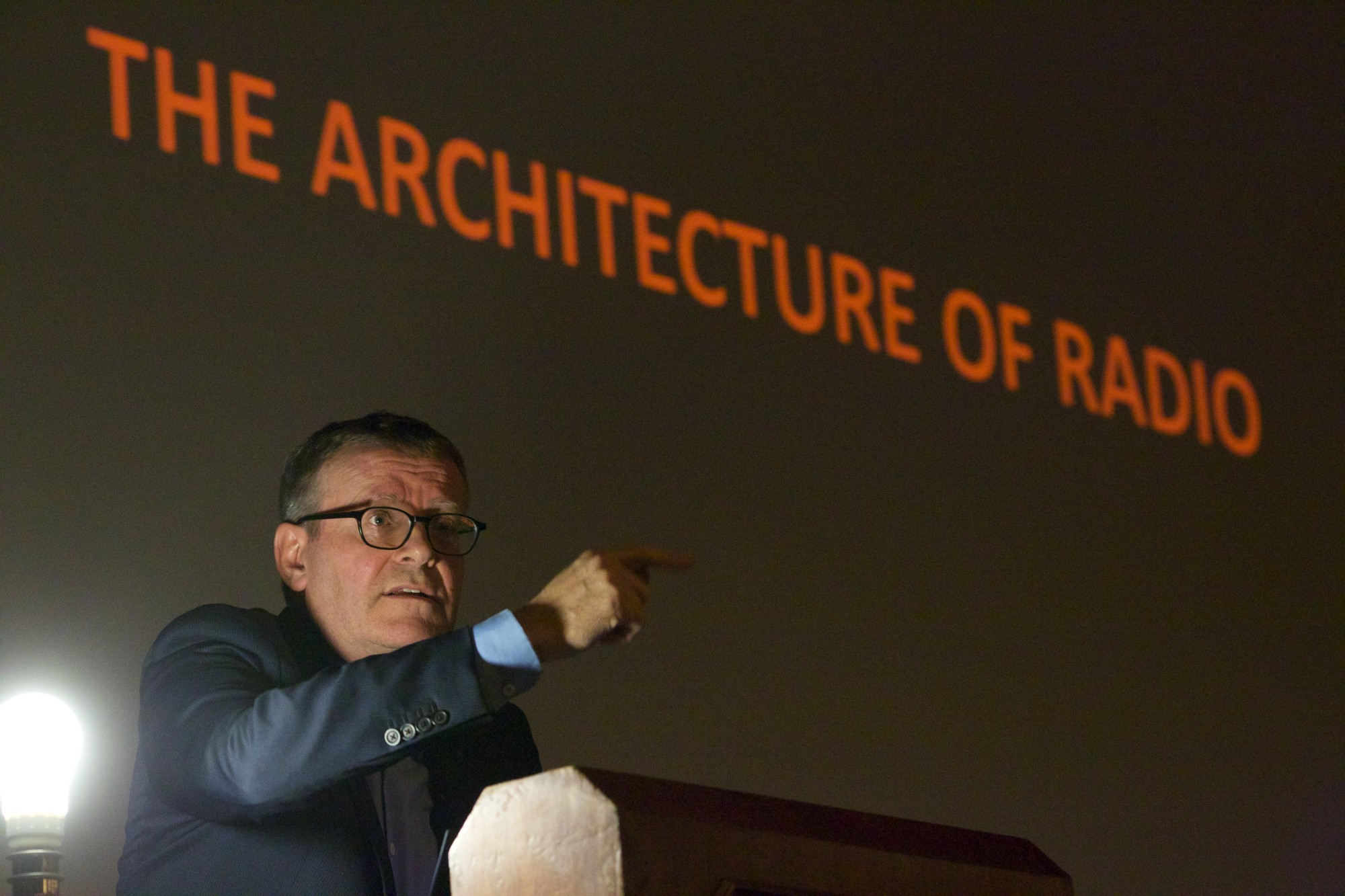 Benno Premsela Lecture 2014. Image © Carel van Hees @ Het Nieuwe Instituut