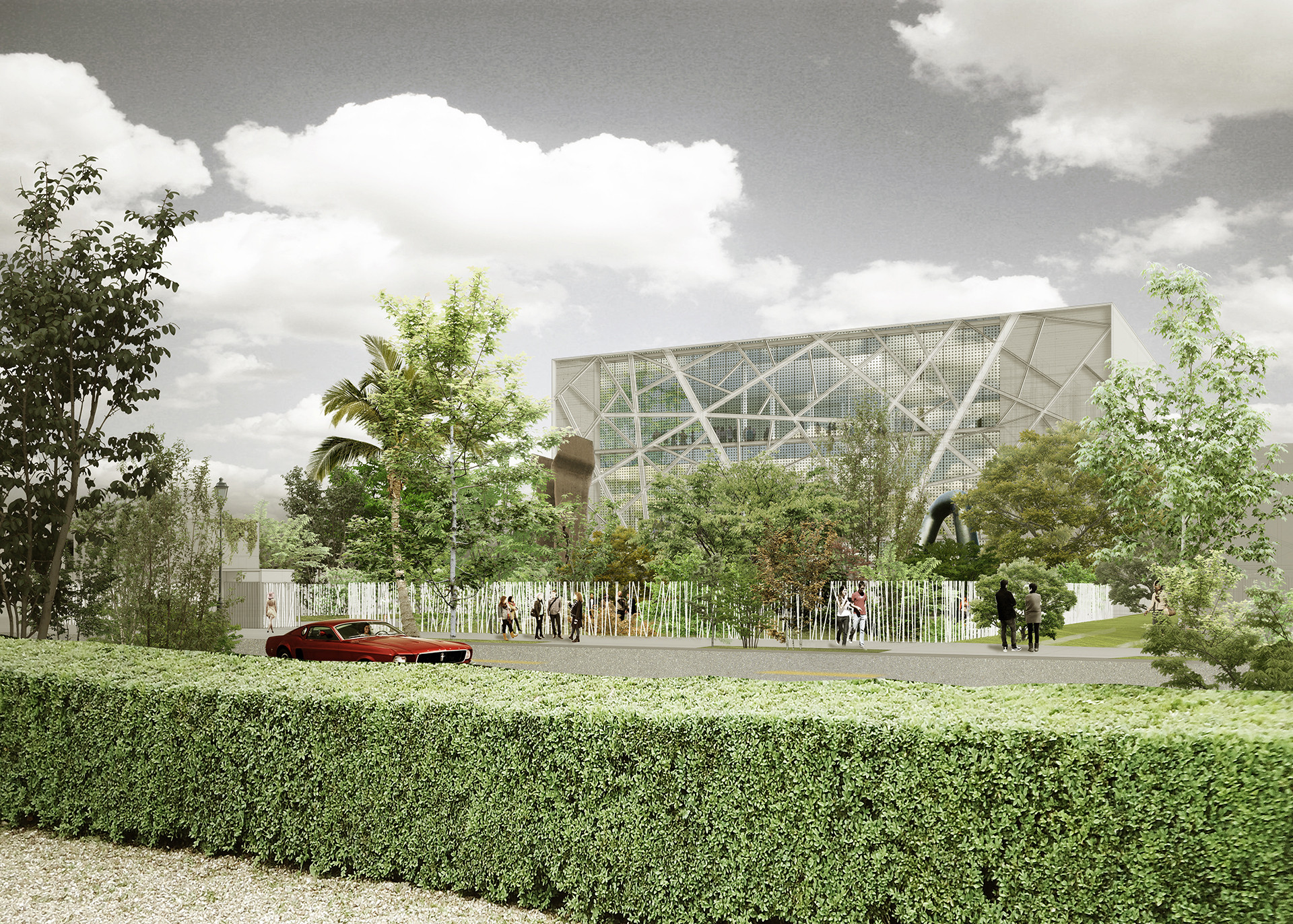 Aranguren & Gallegos to Design Museum for ICA Miami, Preliminary Design. Image © Aranguren & Gallegos Arquitectos