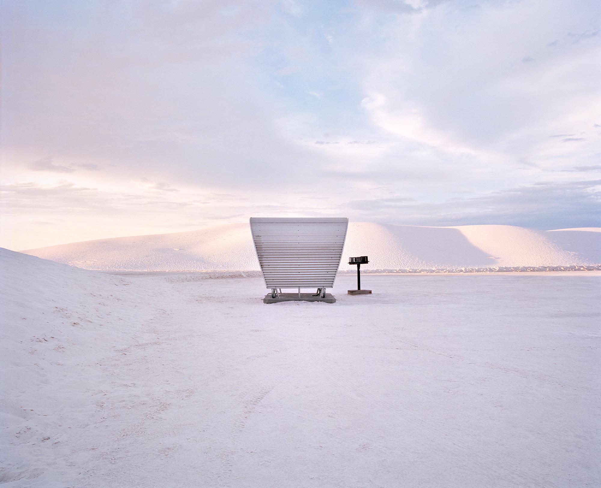 The Last Stop, documentando las áreas de descanso que desaparecen en América del Norte, Monumento Nacional de White Sands, Nueva Mexico. Imagen © Ryann Ford