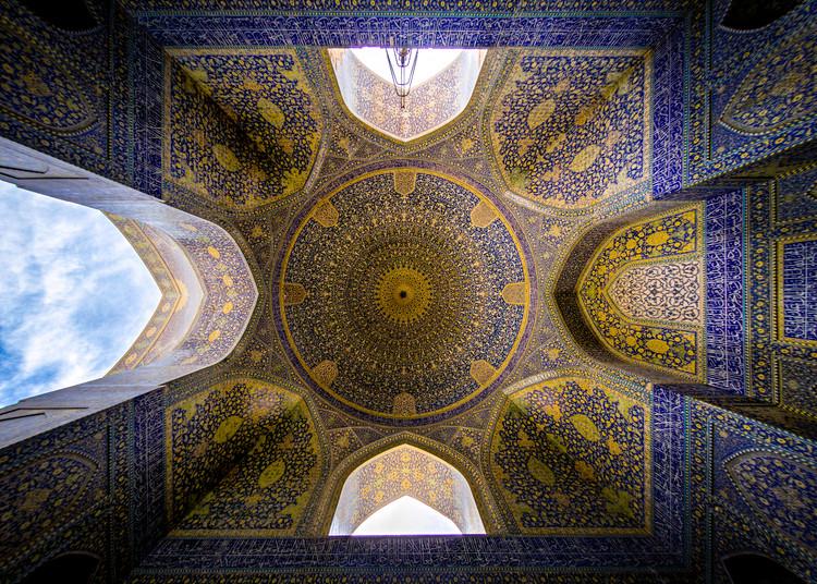 Mezquita Emam . Image Cortesía de Mohammad Reza Domiri Ganji