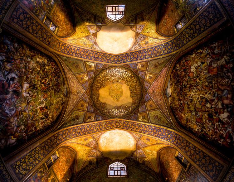 Chehel Sotoun. Image Cortesía de Mohammad Reza Domiri Ganji