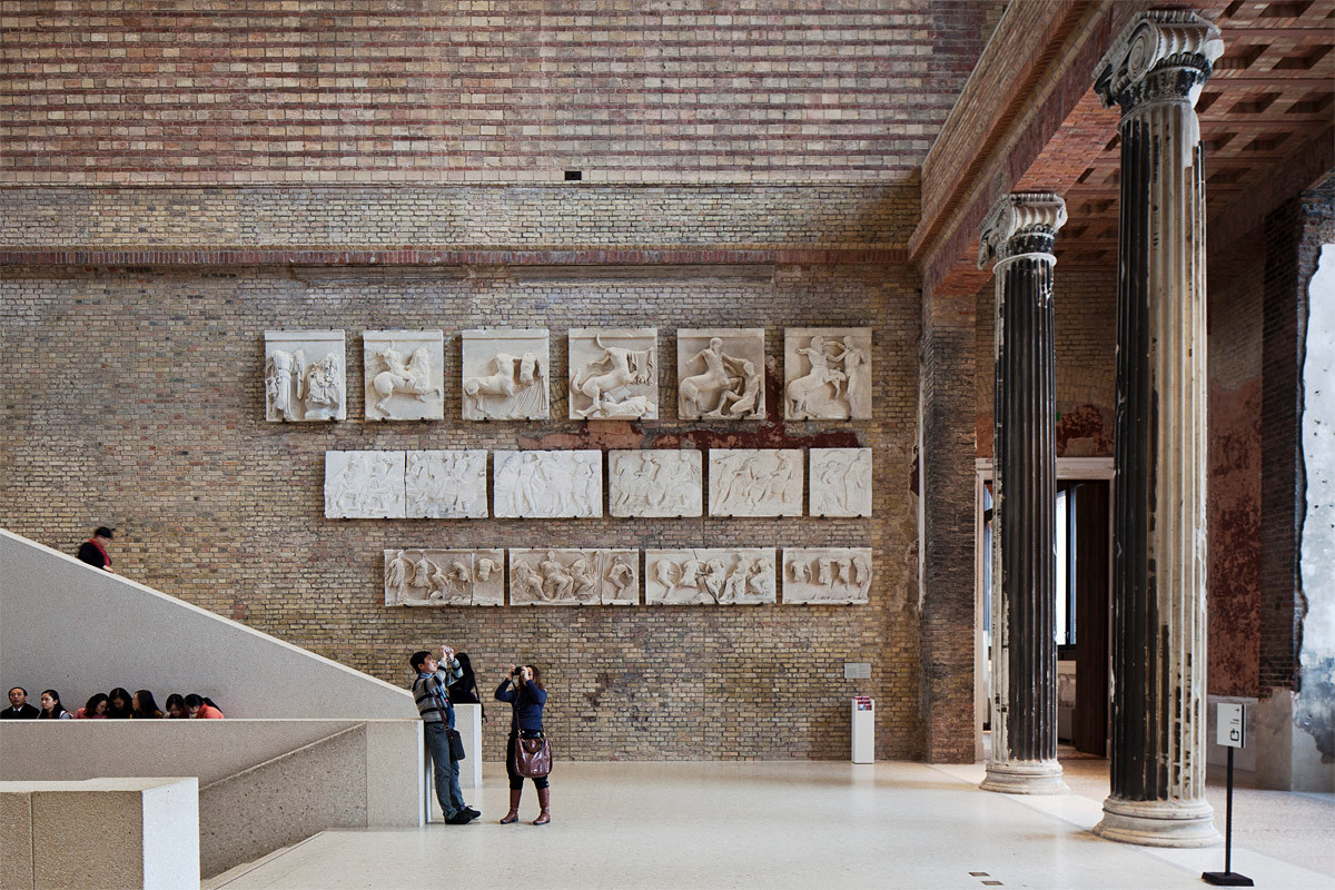 "Chipperfield On London's ""Success-Based Culture"", Neues Museum, Berlin (courtesy Staatliche Museen zu Berlin). Image © Achim Kleuker"