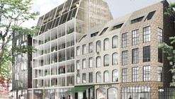 Kjellander + Sjöberg Take First Place with Rosendal Apartments