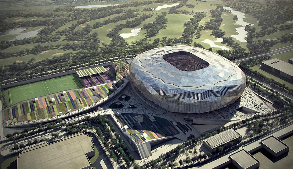 Qatar Unveils Designs for Fourth World Cup Stadium, Courtesy of SC