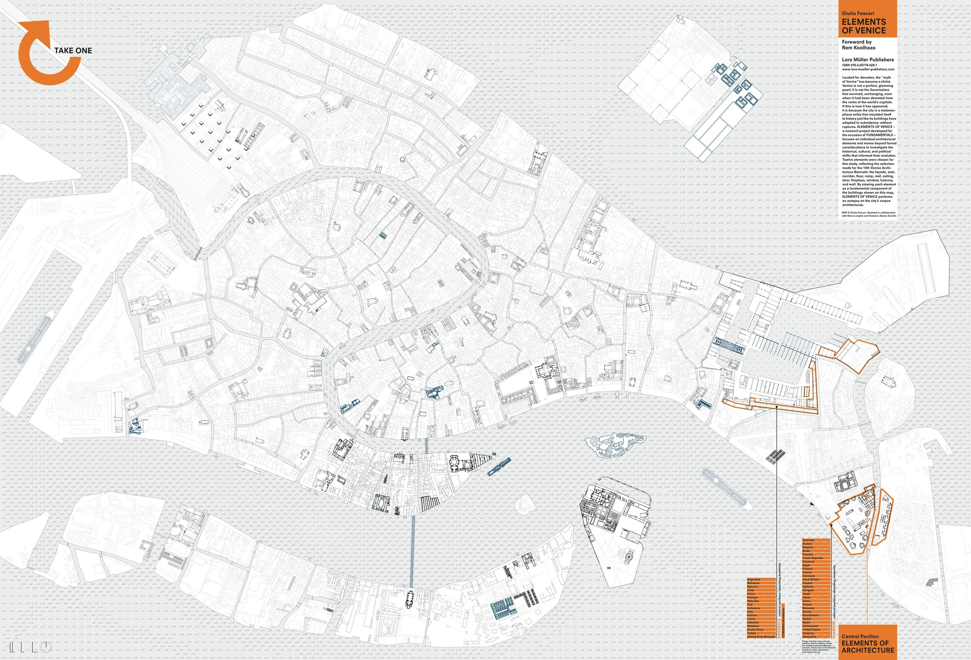 Elements of Venice – Tourist Map of Venice