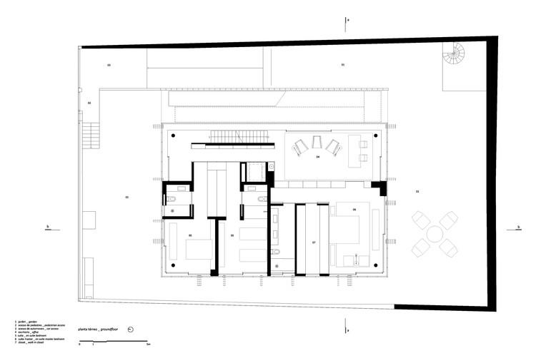 Casa b b studio mk27 marcio kogan renata furlanetto for Copying house plans