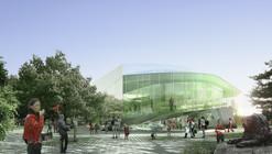 Competition Entry: Saucier + Perrotte Designs Glass Pavilion for Montreal Botanical Garden