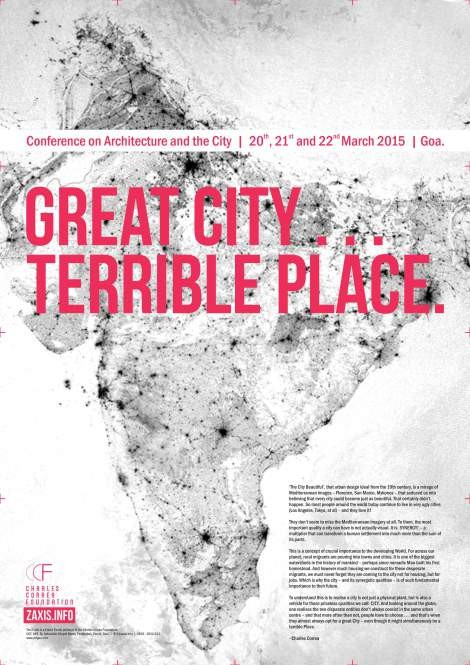 "The Z Axis International Conference to Explore ""Great City, Terrible Place"" in India, Courtesy of The Z Axis"