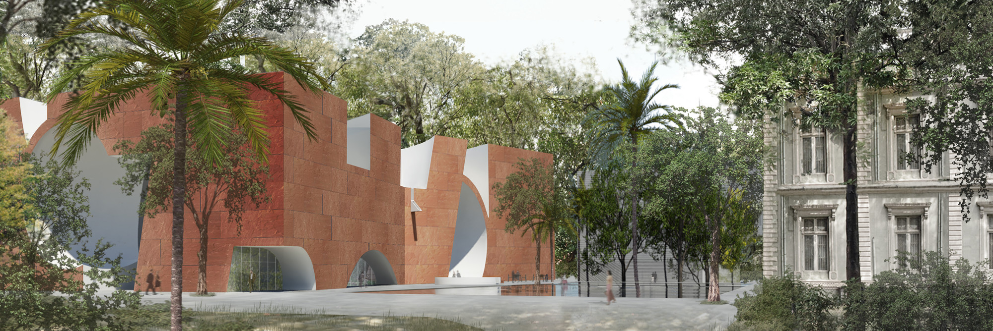 Steven Holl Selected To Design New Wing For Mumbai City Museum, Courtesy of Steven Holl Architects