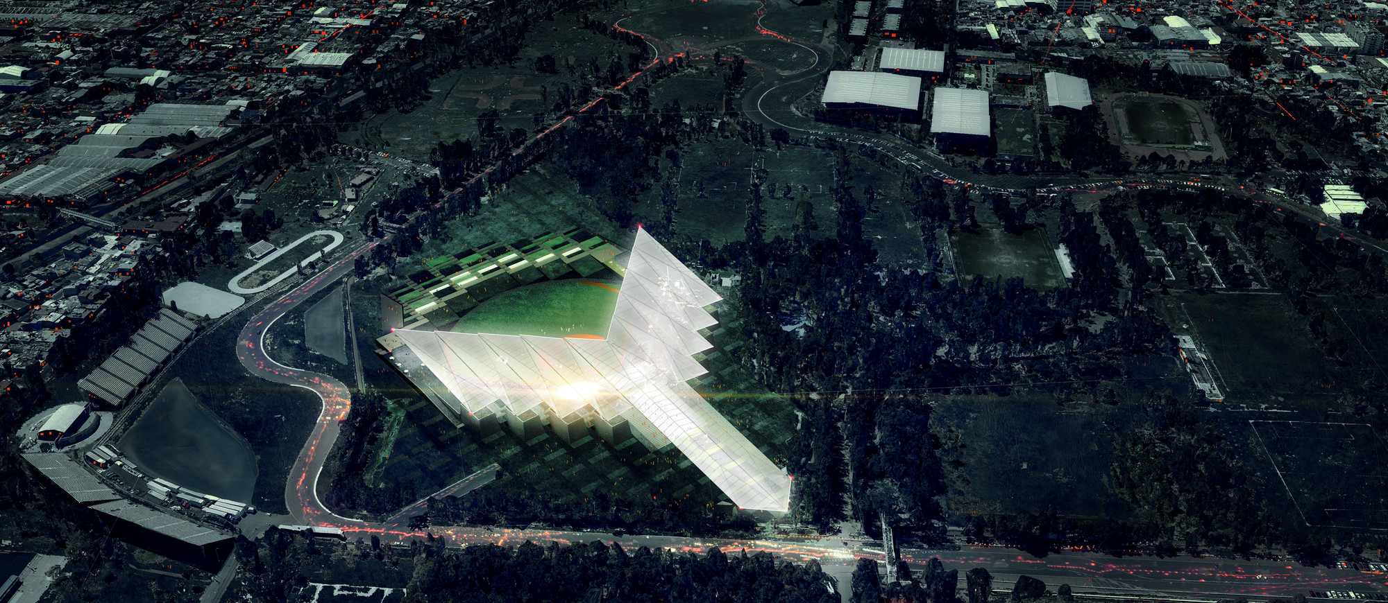 JAHN and ADG Unveil Mexico City's Newest Baseball Stadium, © JAHN and ADG