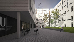 CVDB Arquitectos Wins Contest for Student Housing in Lisbon