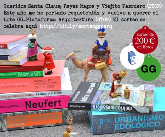 Sorteo Navideño: ¿Quieres ganar un lote de libros de la Editorial Gustavo Gili?