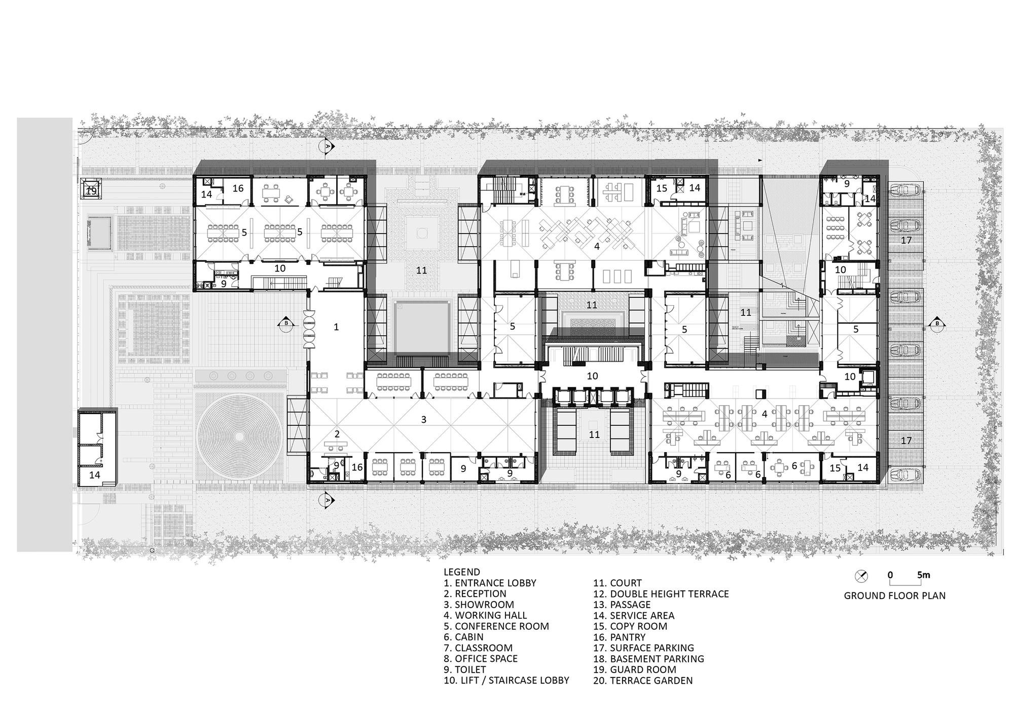 Gallery Of Triburg Headquarters S P A Design 19