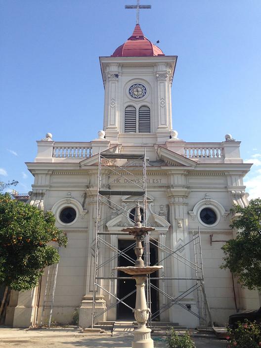 En Detalle: Restauración de la Iglesia de Santa Lucrecia, Santiago de Chile, Cortesía de Carlos Maillet Aránguiz