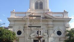 En Detalle: Restauración de la Iglesia de Santa Lucrecia, Santiago de Chile