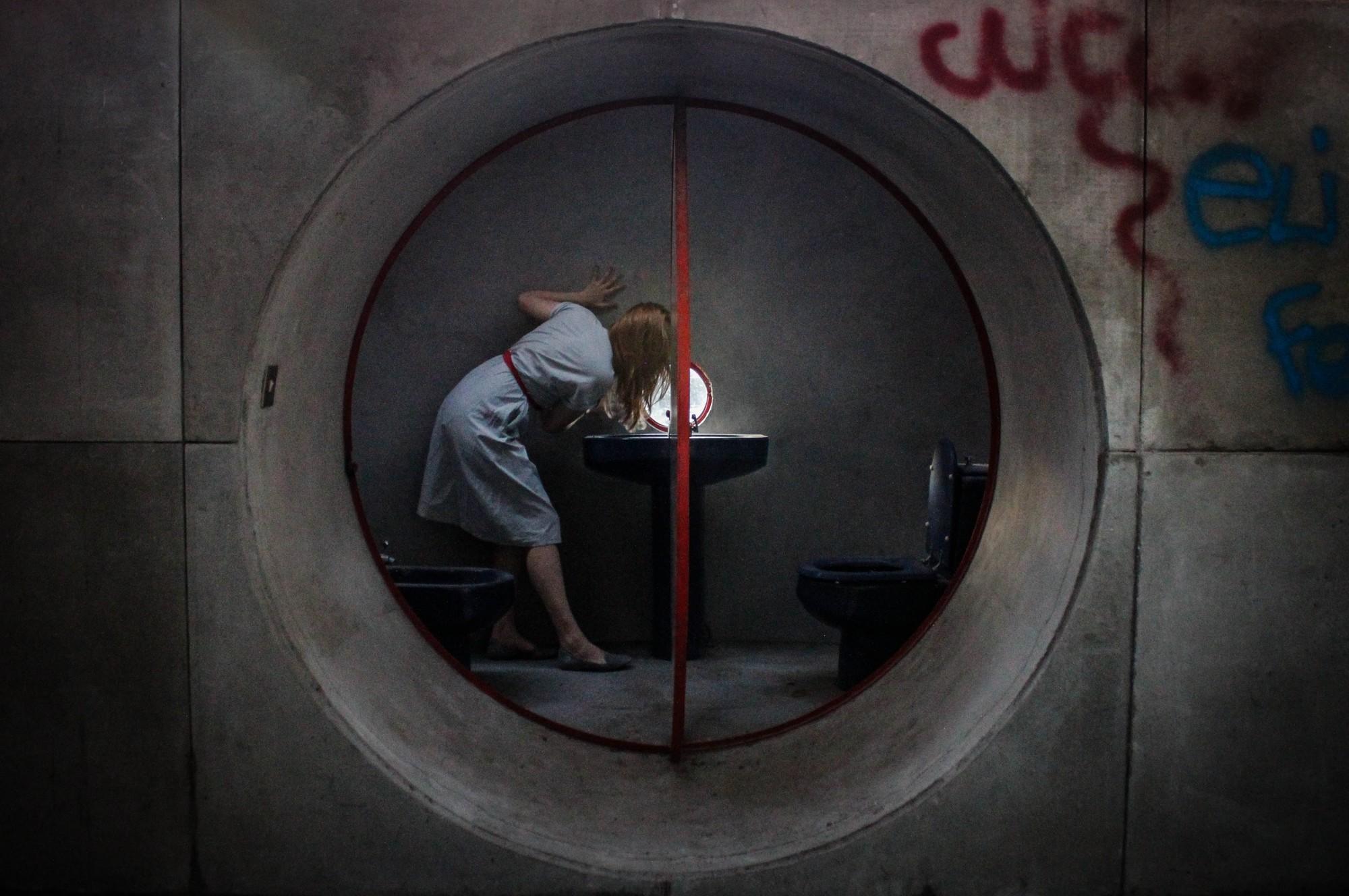 Giuseppe Perugini Bathroom. Image © Lisa Shalom