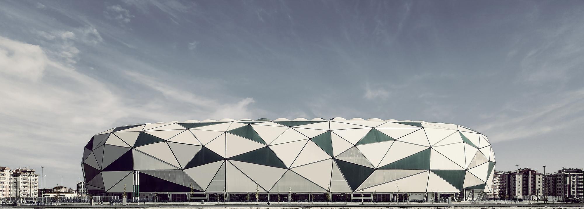 Estadio de la ciudad de Konya / Bahadır Kul Architects, © Ket Kolektif