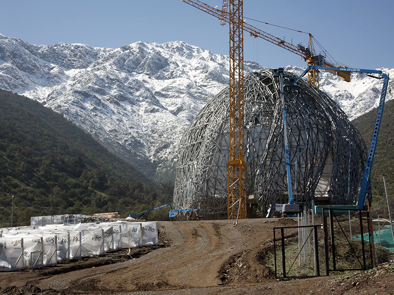 In Progress: Bahá'í Temple of South America / Hariri Pontarini Architects, Courtesy of Bahá'í Temple of South America