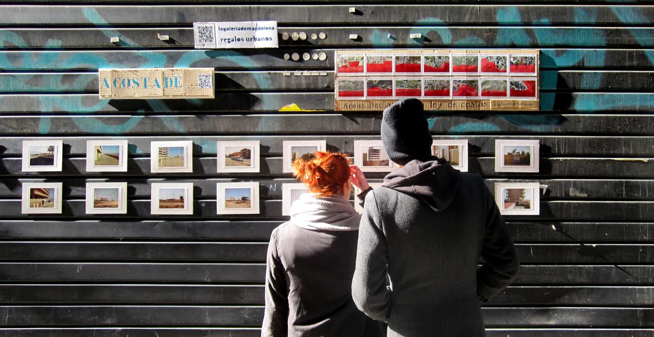 Galería Calle Príncipe / A costa de. Image Cortesia de Lagaleriademagdalena