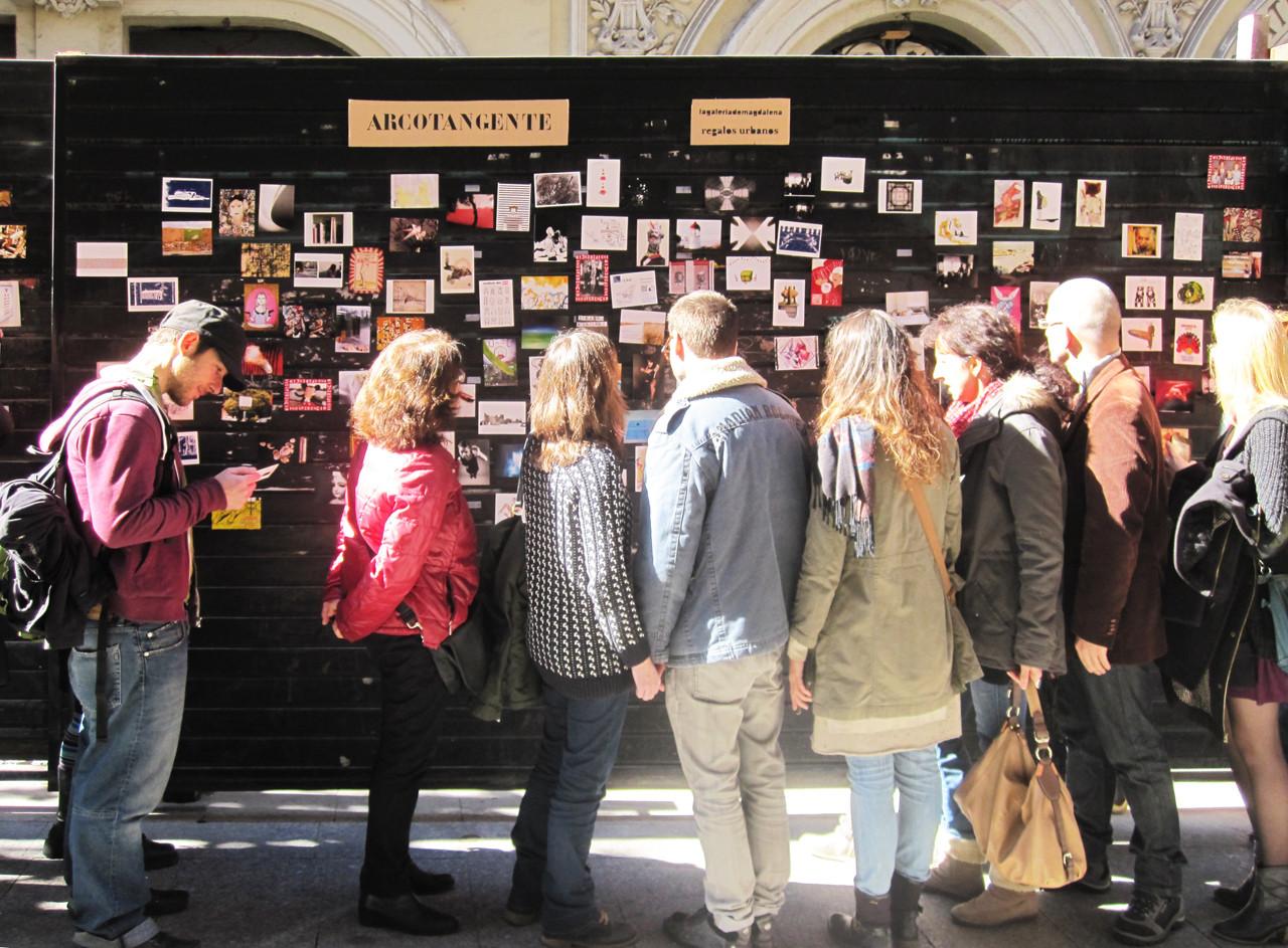 Galería Calle Príncipe / Arcotangente II. Image Cortesia de Lagaleriademagdalena