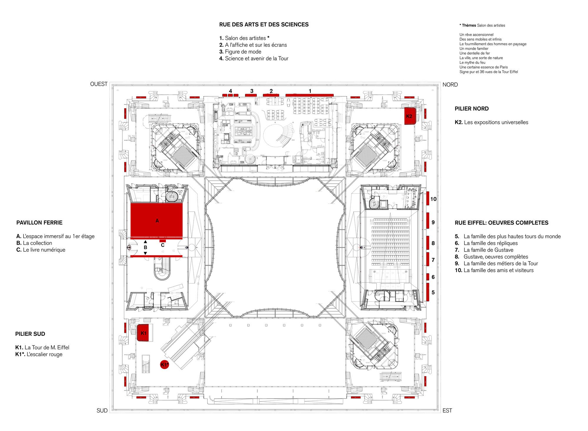 Eiffel Tower Floor Plan Eiffel Tower S First Floor Refurbishment Agence Moatti