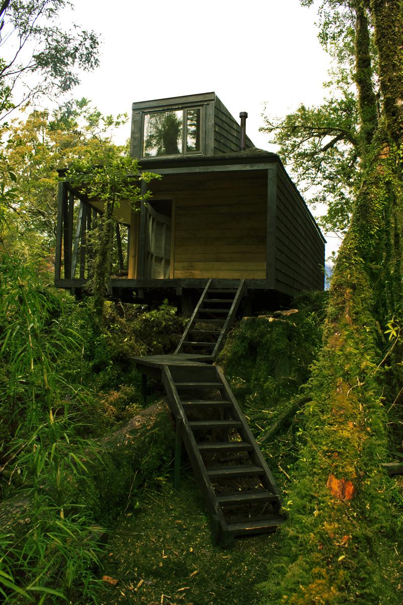 Galer a de refugio en los fiordos de la patagonia - Fin de semana en cabanas de madera ...
