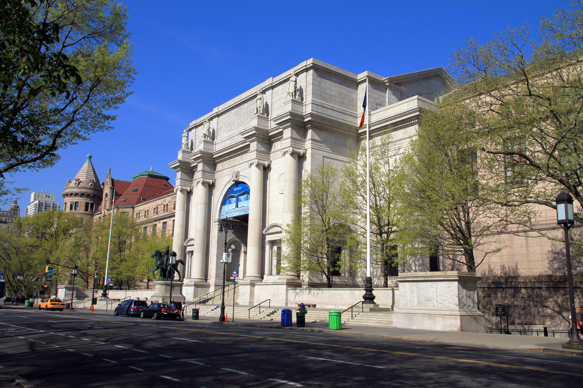 Studio Gang Tapped to Extend American Museum of Natural History, American Museum of Natural History. Image Courtesy of Wikipedia