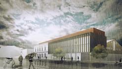 Mención Honrosa en Concurso habilitación y construcción Archivo y Biblioteca Regional de Punta Arenas / Chile