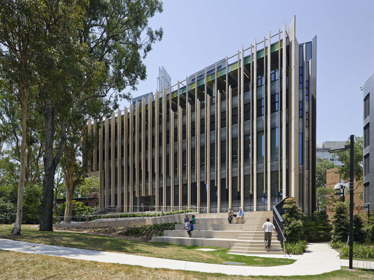 Centre of Advanced Imaging at University of Queensland / John Wardle Architects + Wilson Architects, © Christopher Frederick-Jones