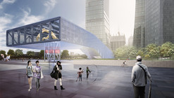 OMA Wins Competition for Shanghai Exhibition Center