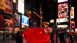 Stereotank Designs Heart-Beating Urban Drum for Times Square
