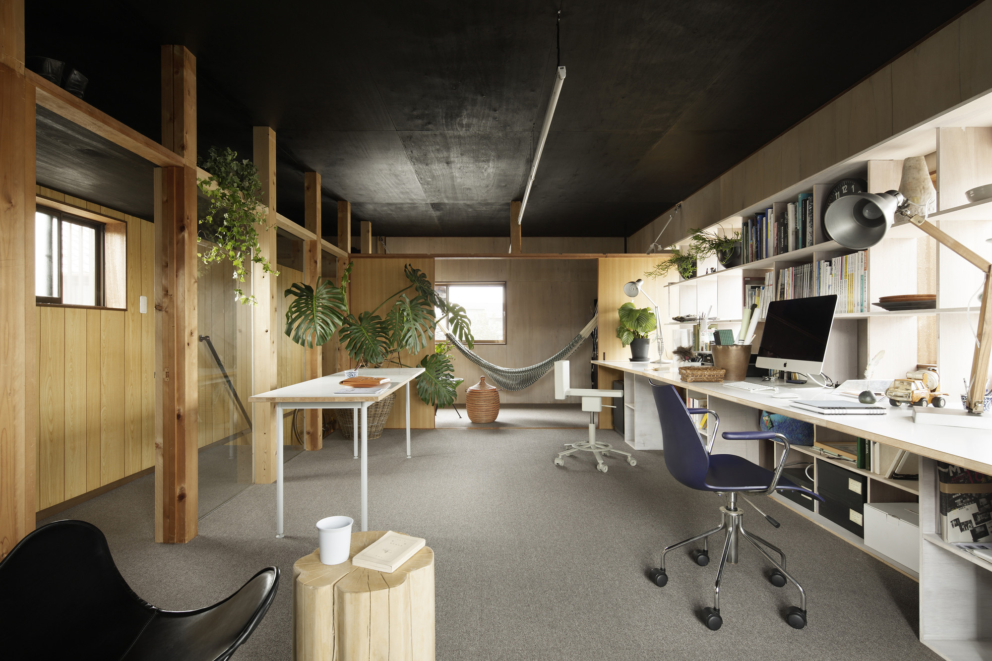 Enzo gallery and office ogawasekkei archdaily for Office design archdaily